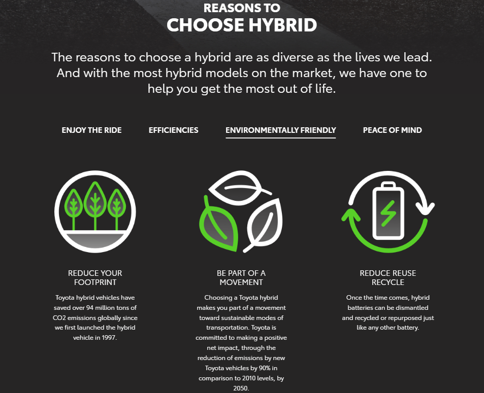 Hybrid at Meadowvale Toyota