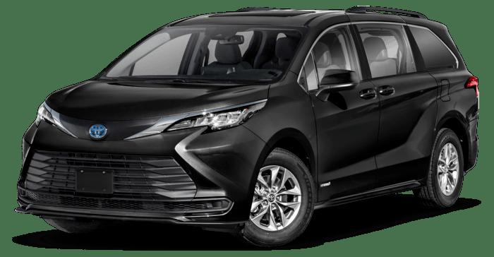 2021 Sienna Hybrid LE